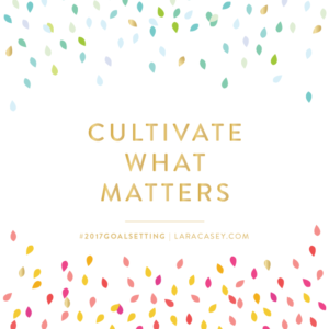 Cultivate what matters, parenting on purpose